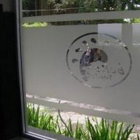 Quality Decorative/Self Adhesive/Sandblast Window Film, Customized Patterns are Welcome for sale