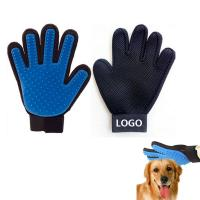Colorful Promotional Pet Massage Gloves Dog Comb Logo Customized Manufactures