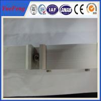 China Aluminum Solar Rail Solar Roof Mounting Systems / PV Mounting Brackets Manufactures