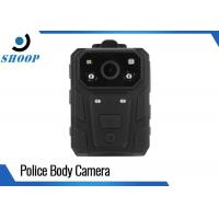 Wearable DVR Mini Body Worn Video Camera 1080P Waterproof GPS 3500mAh Battery Manufactures