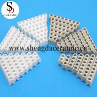China 2-8 holes White or Beige high temperature resistance insulating C795 alumina ceramic band heaters on sale