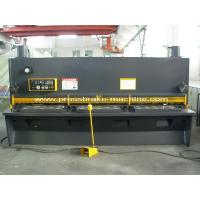 China Sheet Metal Guillotine Shear , Hand Operated Guillotine Cutter For Metal on sale
