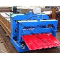 Metal Roof Forming Machine Glazed Tile Cold Forming Machin Color Steel Glazed Roofing Tile Making Machine Manufactures