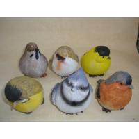 Bright Coloured Polyresin Figurine Small Animal Bird Statues Figurines Manufactures
