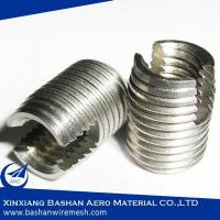 303 M4 self tapping threaded inserts for plastic screw blind holes China Bashan Manufacturer Manufactures