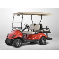 China High End Electrical Golf Carts With 4 Seater , Club Car Golf Carts with LED Lights on sale