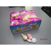 Four In One Ice Cream , Bun , Strawberry Shaped Sweet Marshmallow Candy For Christmas Manufactures