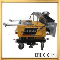 Automatic Wall Plaster Rendering Machine For Cement Paster Construction Machinery Manufactures