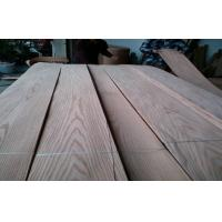 China Red Oak  Crown Cut Veneer Sheets For Furniture ,  Edge Banding on sale