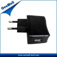universal usb wall mount 5V1A power adapter Manufactures