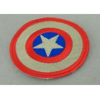 Custom Embroidery Fabric Iron Monkey Look Patch for Garment Washable Manufactures