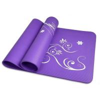 China 3mm Patterned Thick ECO Yoga Mat Rubber Non Slip Yoga Mat for Kids on sale