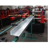 C / Z Shape Automatic Changable Purlin Roll Forming Machine Hydraulic Punching Hole Manufactures