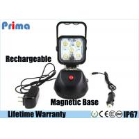 Rechargeable LED Work Lights With Magnetic Base Dimmable Style 15W Power Manufactures