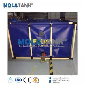 China MolaTank Tarpaulin Foldable and Collapsible Waterproof PVC Fish Tank on sale