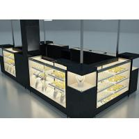 Elegant Appearance Jewelry Showcase Kiosk With Fully - Enclosed Structure Manufactures