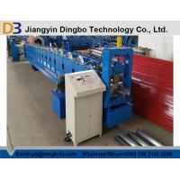 Buy cheap PLC Control PPGI Steel Sheet Rain Gutter Roll Forming Machine With 0.3-0.8mm Thickness from wholesalers