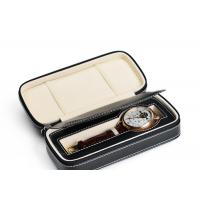 TW-033 Pu Mens Leather Watch Box  For Wristwatch , Leather Watch Case Manufactures