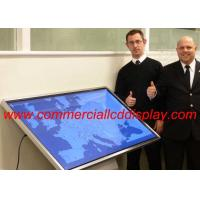 4 K Interactive Touch Screen Table Self Service , Lcd All In One Pc Display