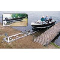 Patriot Aluminum Boat Lift Hoist Shore Ramp Complete Kit, Premium Wobble Wheels Manufactures