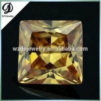 China Square Princess Synthetic European Machine Cut Cubic Zirconia Machine Cut, Synthetic Stones Cubic Zirconia Price on sale