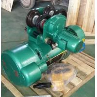 China Trolley Type Electric Wire Rope Hoist , Motorized Chain Hoist For Warehouse on sale