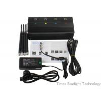 Desktop Smart Cell Phone Signal Jammer , Cellular Phone GPS WiFi Jammer Manufactures