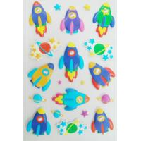 China Professional Puffy 3D Foam Stickers Non Toxic For Children Silk Screen Printing on sale