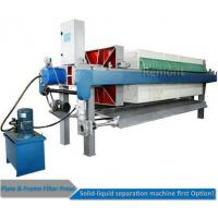 Automatic Program controlled  Hydraulic PP Filter Press Machine Price Manufactures