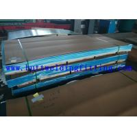 ASTM A387 20 Feet Hot / Cold Rolled Stainless Steel Plate For Pressure Vessel Plate Manufactures