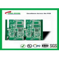 GPS Printed Circuit board  8layer FR4TG150 1.6MM Immersion Gold green solder mask Manufactures