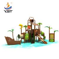 China Outdoor Water Park Playground Equipment , Water Park Play Structures ROHS Approved on sale