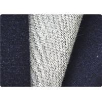 Comfortable Knitted Denim Fabric , Curtain / Bag / Dress Jeans Fabric Manufactures