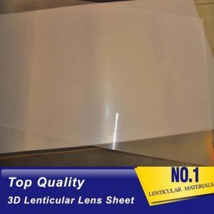 200LPI, 0.18MM Plastic lenticular Sheet 51X71CMLenticular Material 3D Film Lenticular Lens Sheet Manufactures