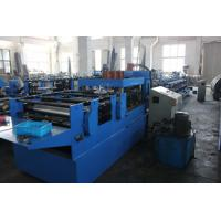 18 Forming Stations C Z Purlin Roll Forming Machine With Hydraulic Cutting Manufactures