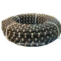 Diamond wire-saws for reinforced concrete. (color is black and material is diamond) Manufactures
