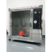 IS0 3873 Safety Fire Testing Equipment , Helmet Flammability Test Chamber Manufactures