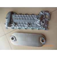 China Reliable Isuzu 4hk1 Oil Cooler Parts Engine Oil Cooler Gasket Erosion Resistant on sale