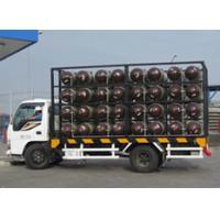 Type 2 CNG Gas Cylinder Mobile CNG Cascade For Natural Gas Transportation Trailer Manufactures