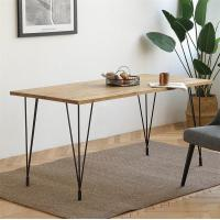 China Contemporary Wood Dining Room Table 120×60×75CM With Minimalism Design on sale