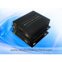 Quality USB2.0 fiber transmitter and receiver connected between Leap Motion and Mac&PC extension to 5KM applied in VR System for sale