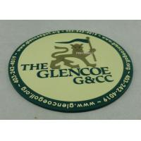 Promotional 2D PVC Coaster , Custom Plastic Luggage Tag For Business Manufactures