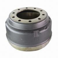 Brake Drums, Comes in Gray Iron and Ductile Iron, Used in Truck, Trailer and Bus Manufactures