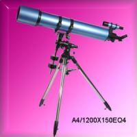 High Definition Refractor Astronomical Telescopes (A4/1200x150EQ4) Manufactures