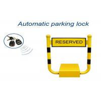 U Shape Vehicle Parking Reservation Lock , Car Parking Space Barriers 433mhz Frenquency Manufactures