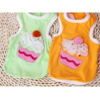 China Summer Colorful Cotton Medium Dog Clothes t Shirt Sports For Family on sale