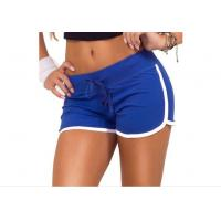 Multi Colors Plus Size Women Summer Casual Shorts For Yoga / Running / Walking Manufactures