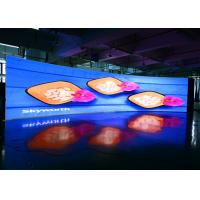 China High Resolution Curved Indoor Led Video Wall P2.9 P3.9 Slim indoor LED Wall on sale