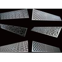 Special Patterns Perforated Aluminum Sheet For Decoration / Construction Manufactures