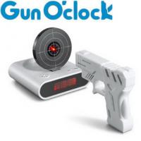 Creative Shoot Alarm Clock with ABS material Manufactures